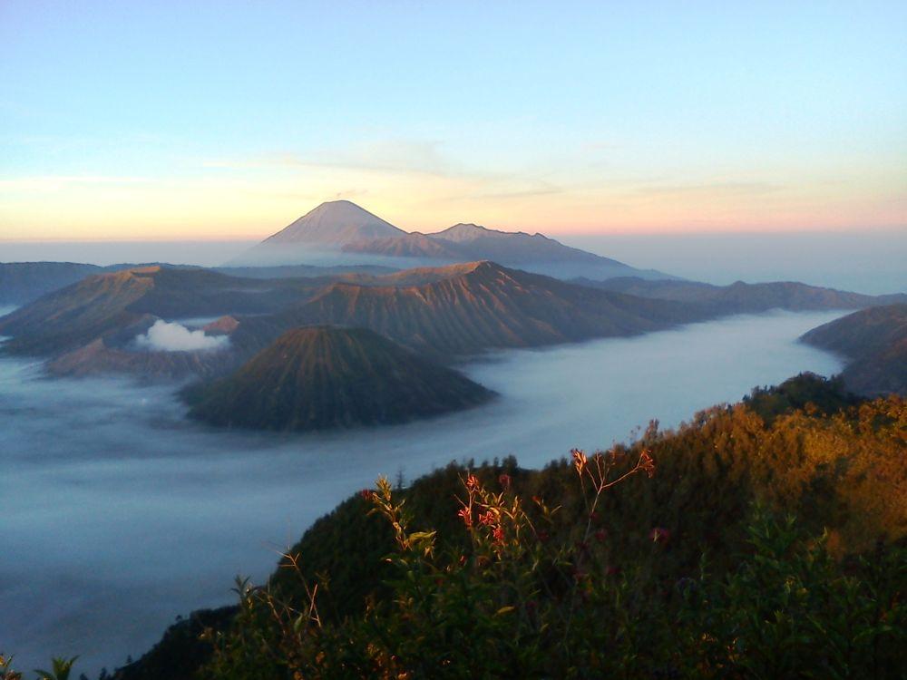 taken using cellphone camera #nature #bromo #mountain #eastjava #indonesia #ypa2013 by dinirachmawati
