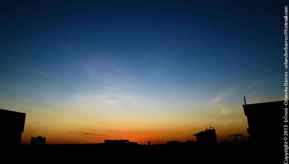 Sunset by Orlando Barros