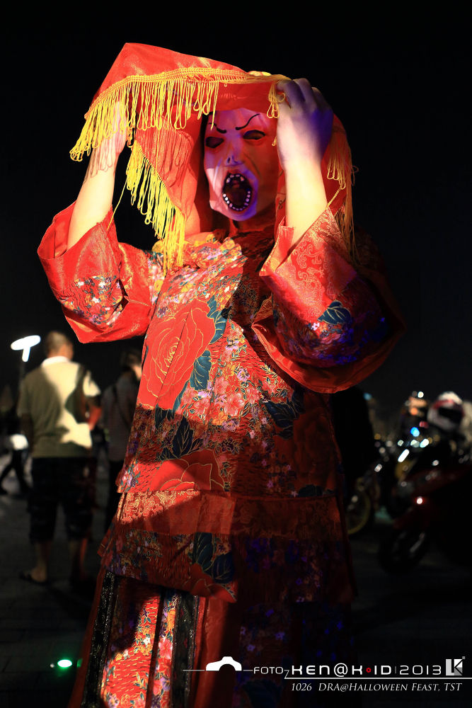 20131026 Ghost Bride@Halloween by ken wong