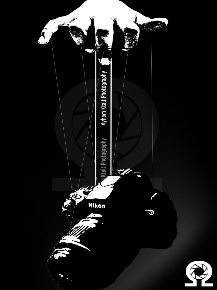 Cut the strings ..  by Ayham Ktait