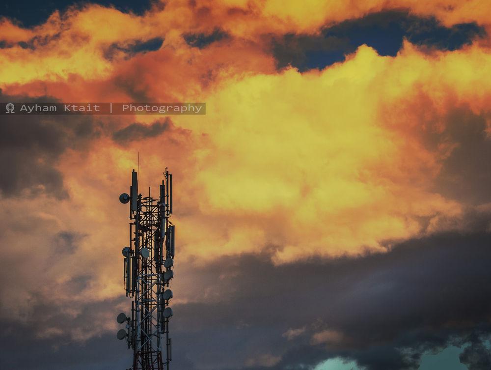 Sunset .. by Ayham Ktait