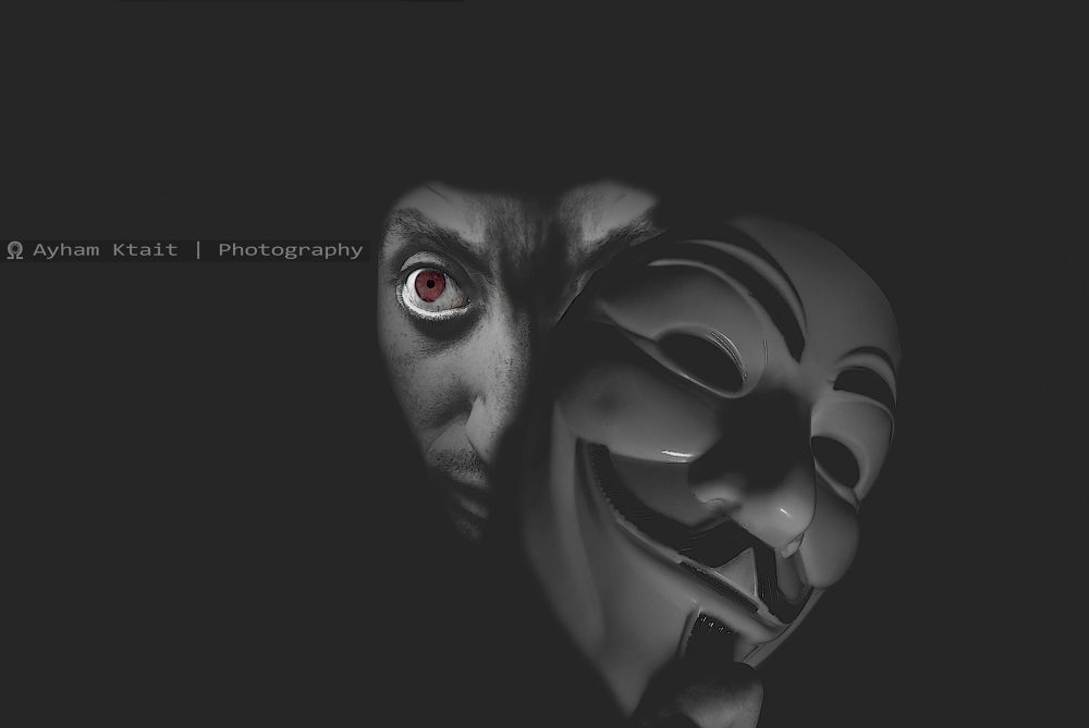 All masks Shall be revealed ..  by Ayham Ktait
