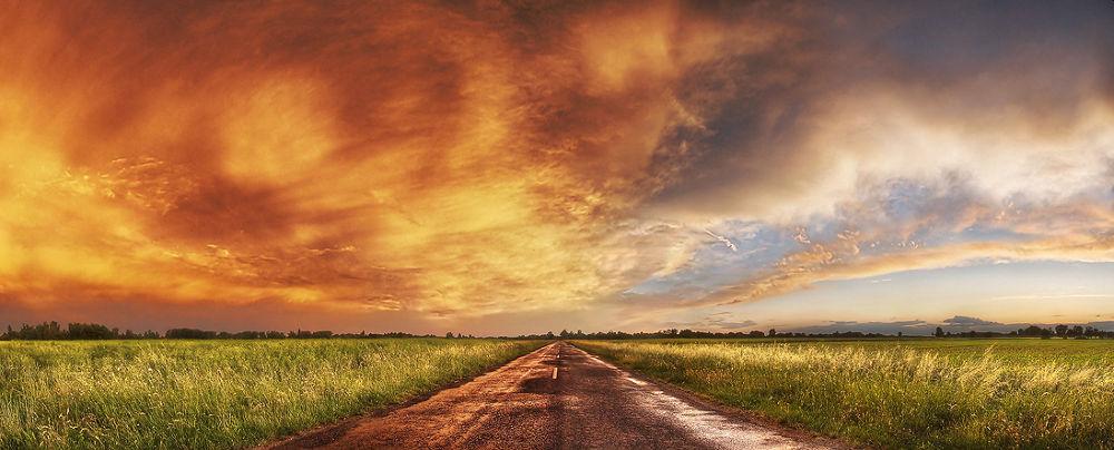 Between hell aend heaven by Zsolt Zsigmond