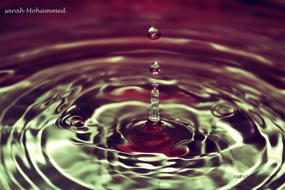 drops of water . by sarahmb73