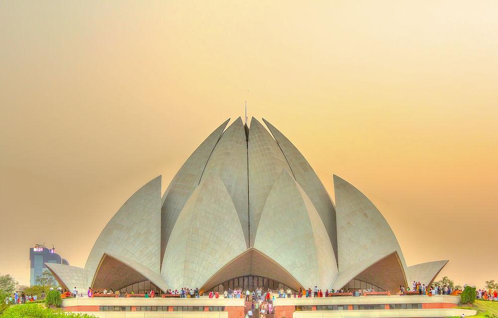 Lotus Temple by saurabhsakhuja7
