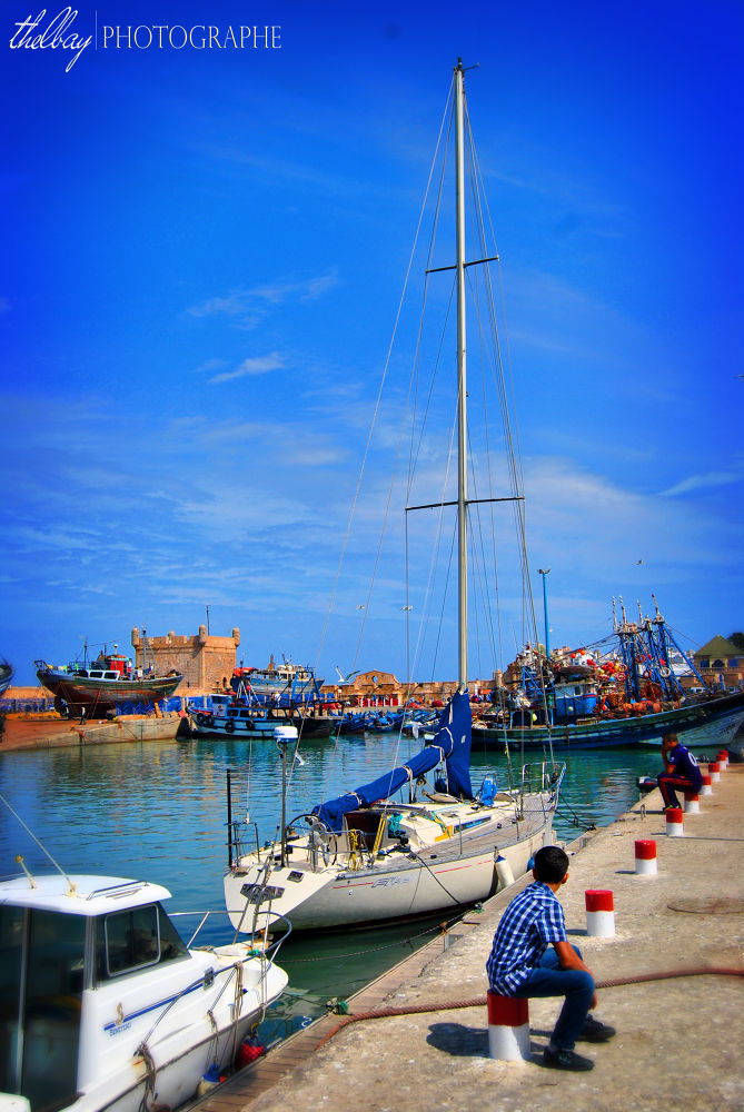 Port of Essaouira by Bay Lahcen Photography