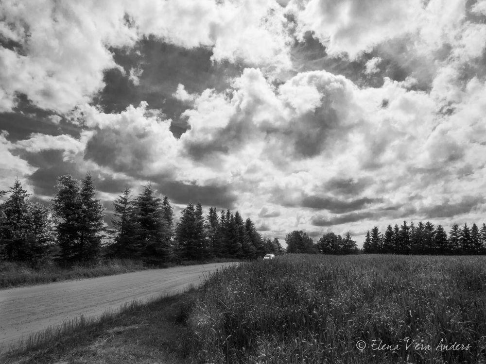 side road by Elena Anders