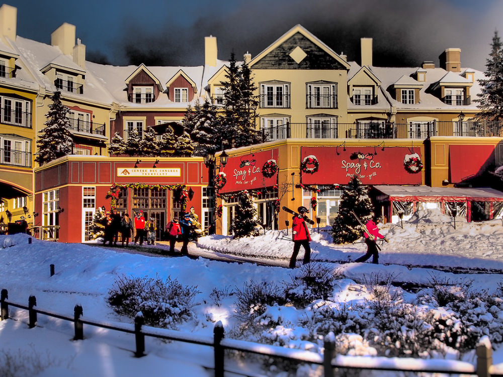 Nice day at Mont Tremblant by Elena Anders