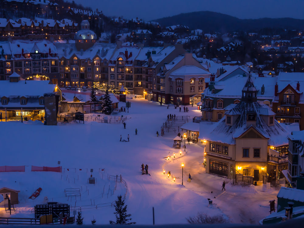 Mont Tremblant. Blue hour by Elena Anders