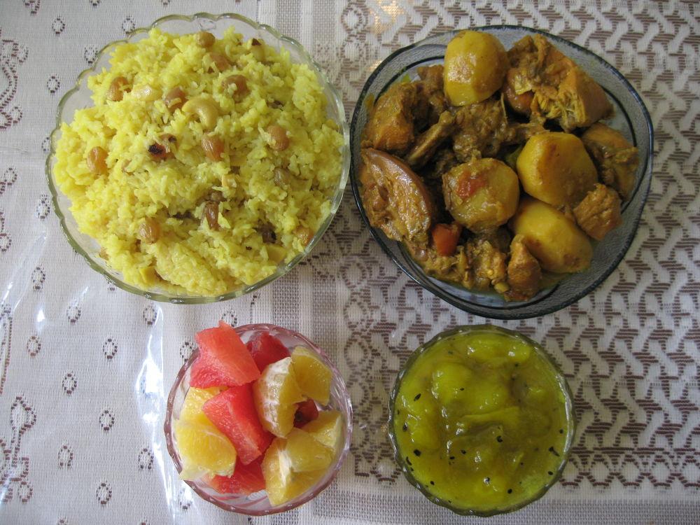 Indian Platter by surajit