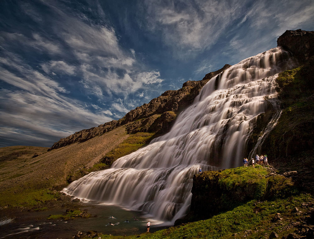 Photo in Landscape #dynjandi #fjallfoss #waterfall #landscape #nature #iceland #structor #ypa2013