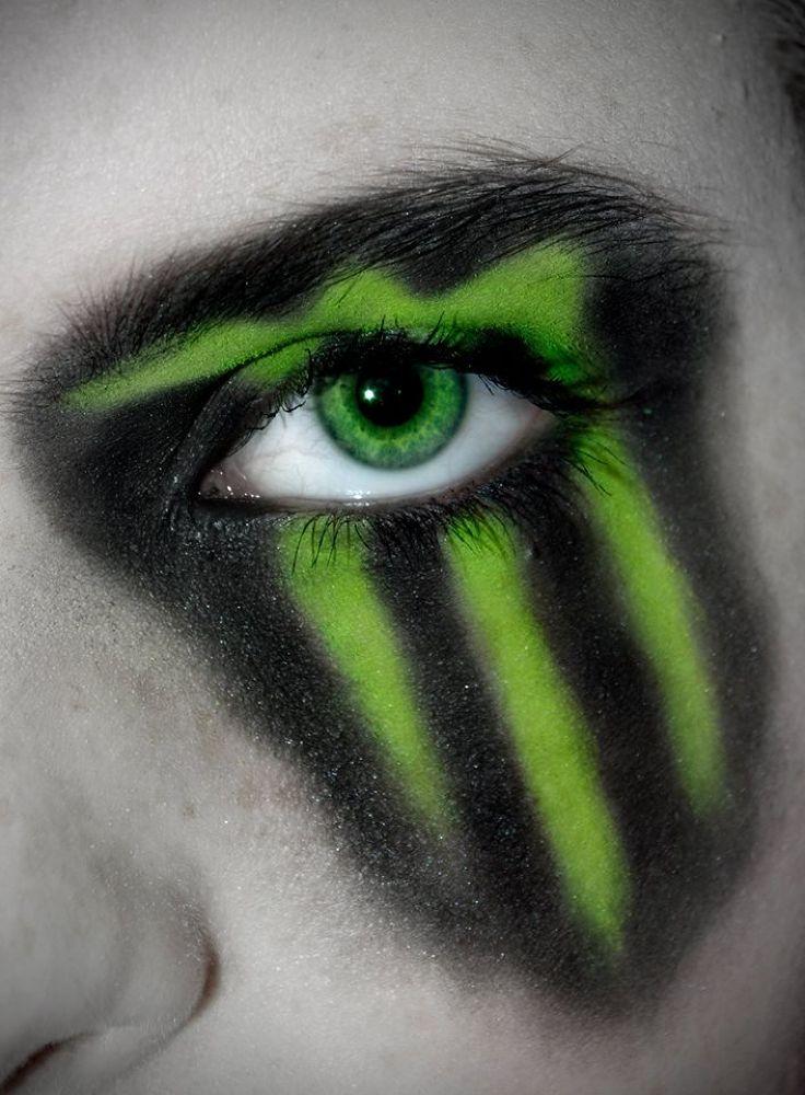 monster make up  by Rhian Kirkby