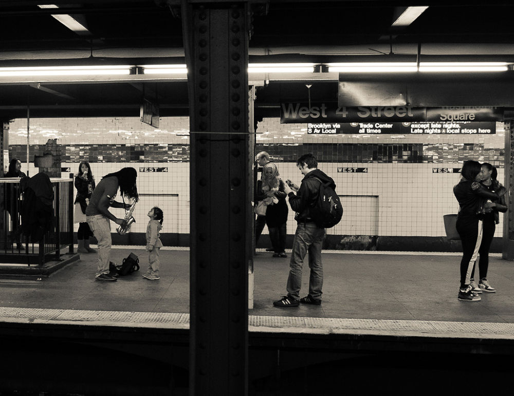 subway serenade by Photographybycintron