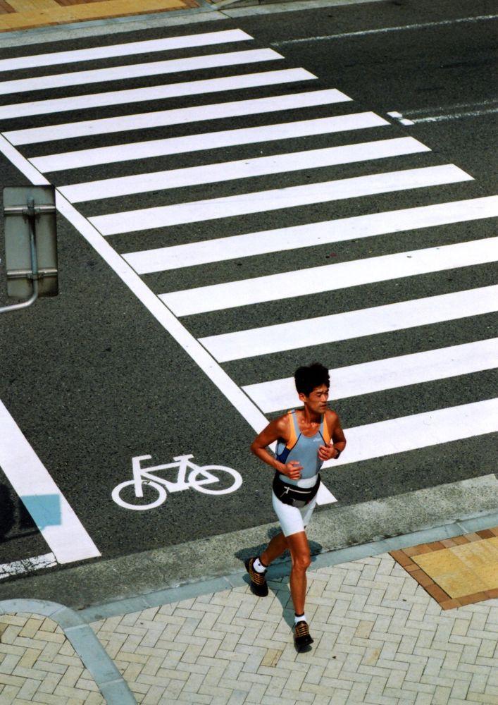 The runner of summer  by shinichiinoue9619