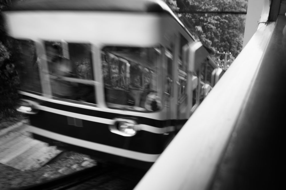 Cable car in Koya-san by shinichiinoue9619