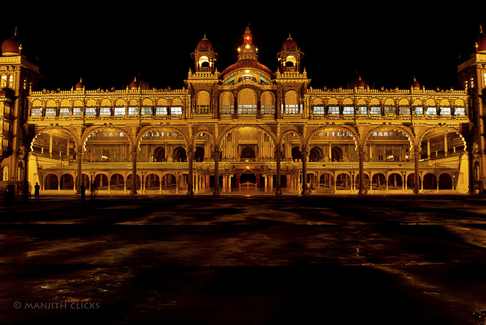 The magnificent Mysore Palace by Manjith Babu