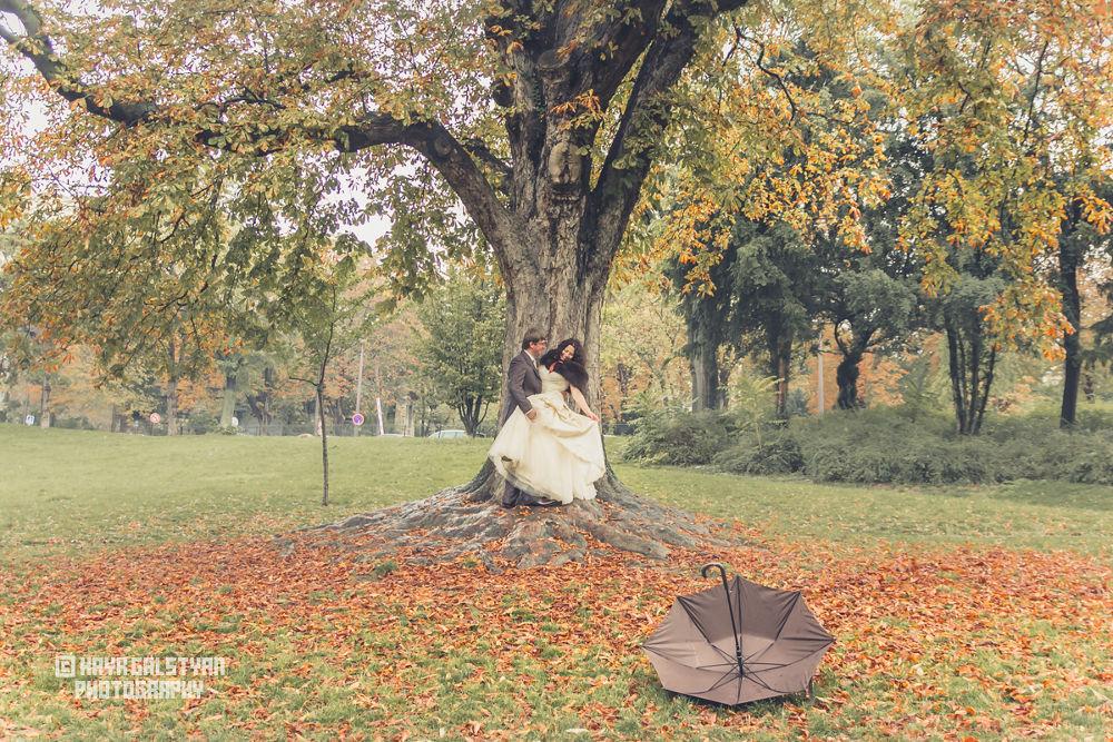 Couples autumn photo by Hayk Galstyan