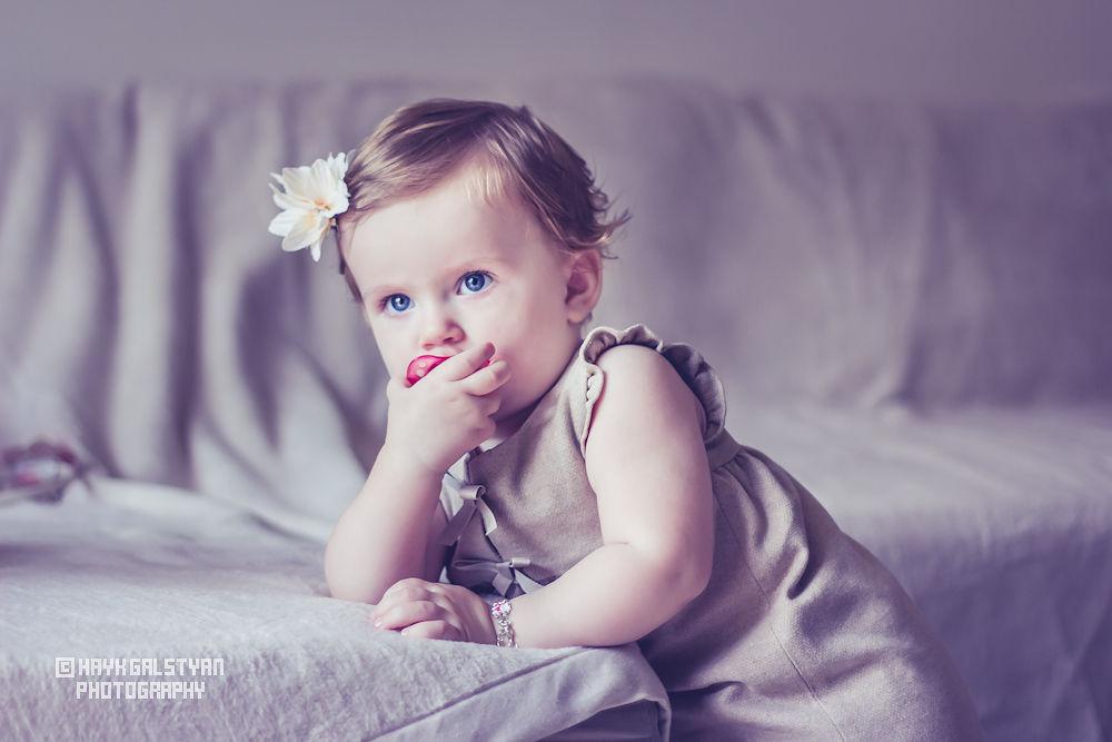 Little girl 4 by Hayk Galstyan