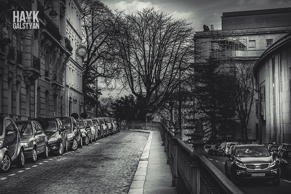Drama in Paris by Hayk Galstyan