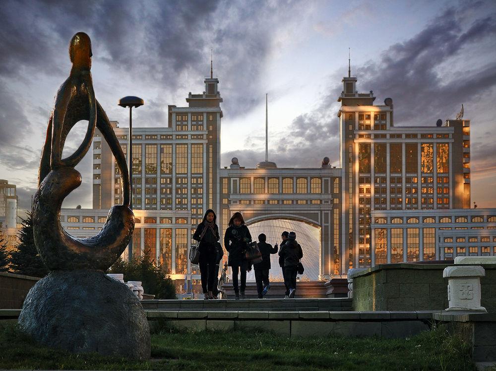 Astana by Alexander Sysuev