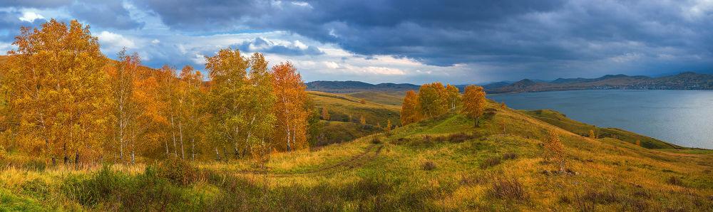 Осенняя... by Alexander Sysuev