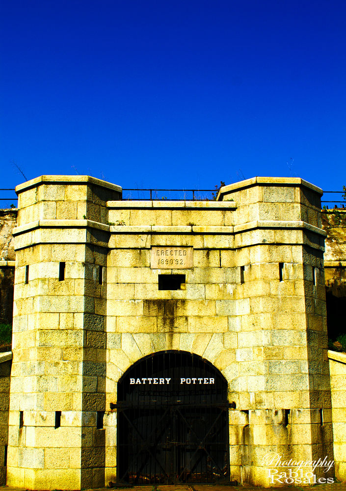 Photo in Architecture #sandy hook #jersey shore #fort hancock #battery #potter #historic