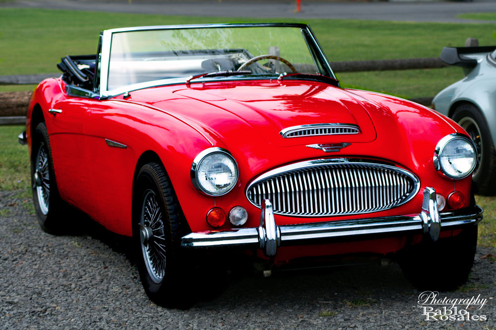 AUSTIN HEALEY 3000MKIII by Photography by Pablo Rosales