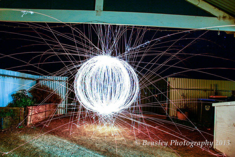 Blue Orb by Beasley Photography 2013