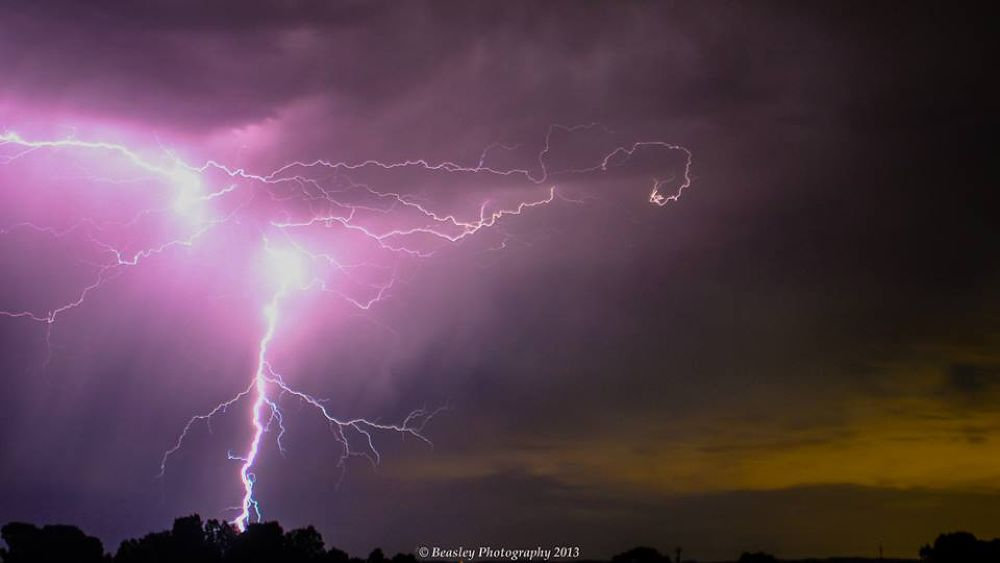 Light storm by Beasley Photography 2013
