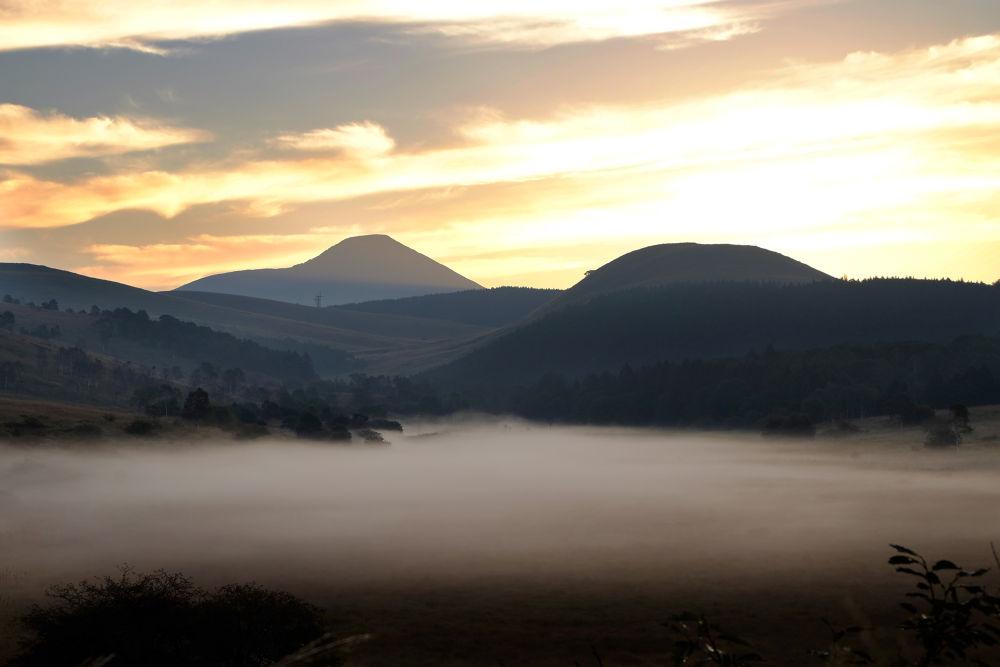 Foggy morning by Yuichi Harada
