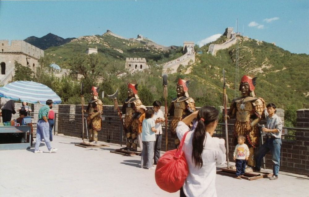 China_Beijing_Badaling_Great_Wall_1993-102 by Arie Boevé