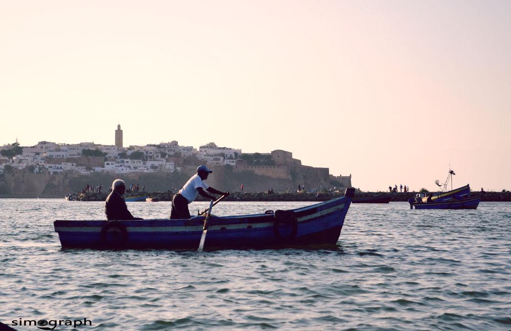 Abo rakrak River Rabat Marrocco  by Simo Tabtaoui