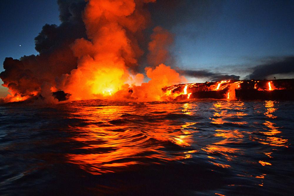 Photo in Random #hawaii #volcano #lava #kilauea #big island
