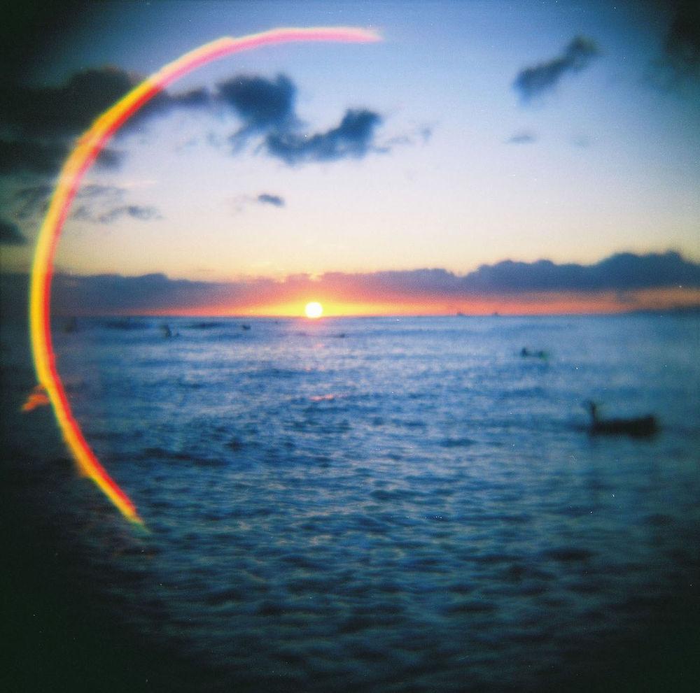 Lomography - Waikiki Beach - Hawaii by Jimmy Duarte