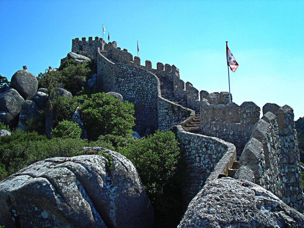 Castelo dos Mouros - Sintra by Jimmy Duarte