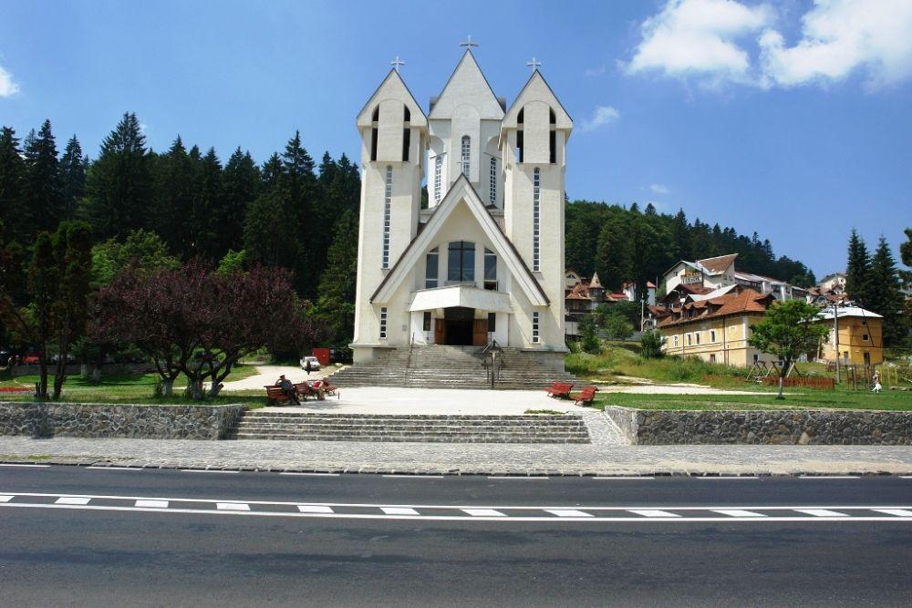 Ortodox church in Predeal, Romania by Japonkat