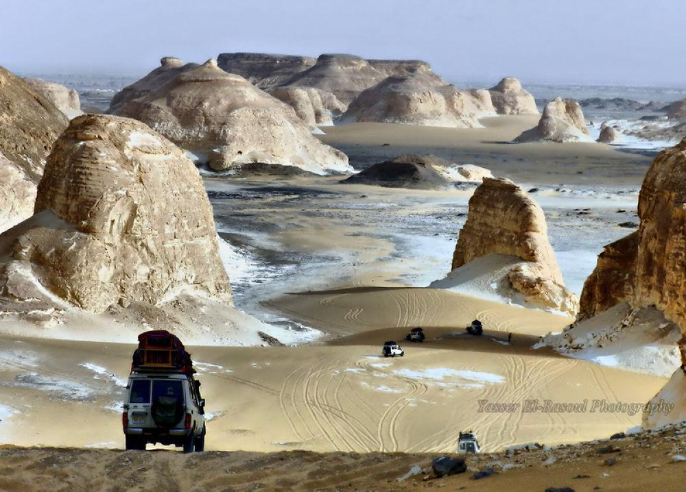 White Desert - Western Desert by yasser elrasoul