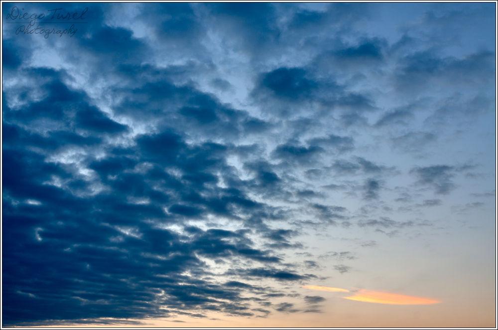 Clouds over Belvedere, Grado, IT by Diego Turel