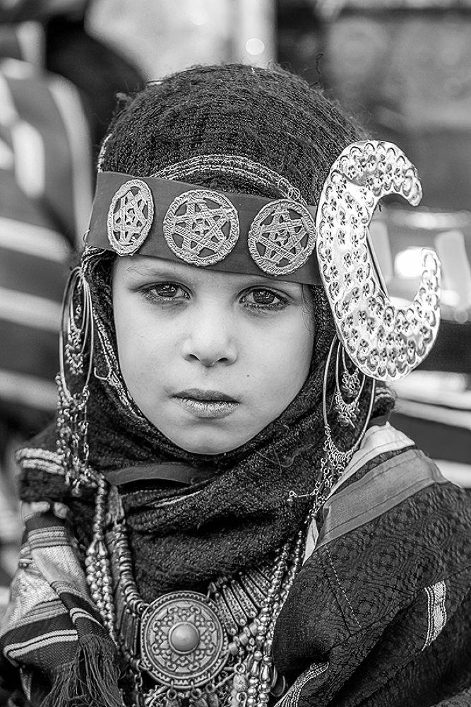 Libyan Girl by Zyad M. Elkadiki