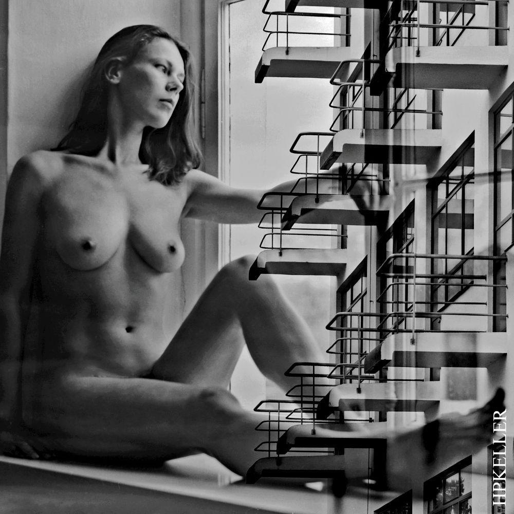 sensual architecture IV - combigrafie by Hans-Peter Keller