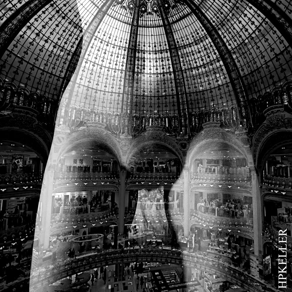 sensual architecture V - combigrafie by Hans-Peter Keller