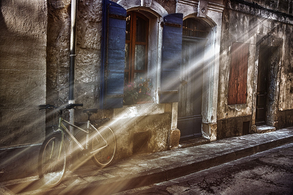 Photo in Abstract #rays of sunshine