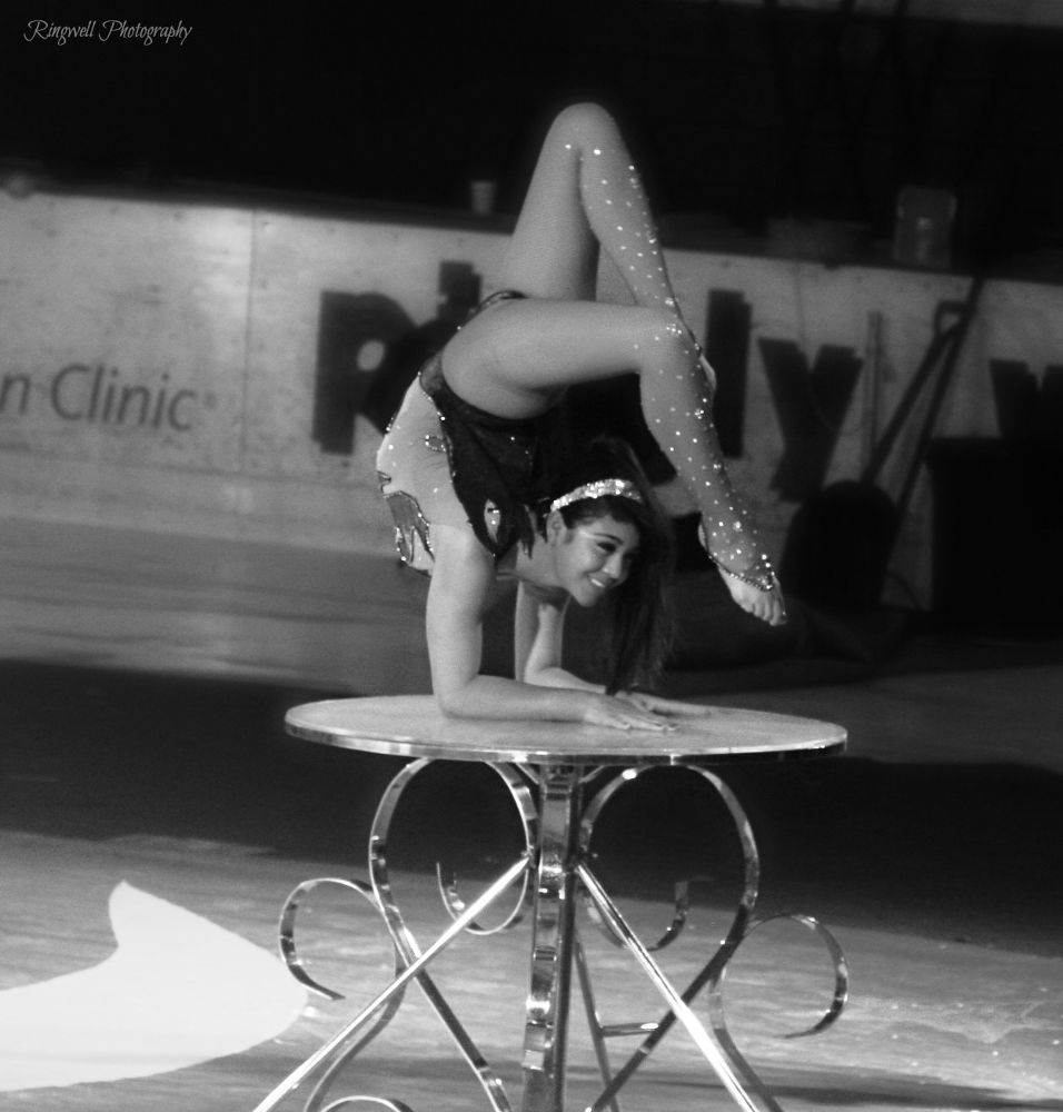 Old Photo From The Circuss by Marissa Sue Ringwell