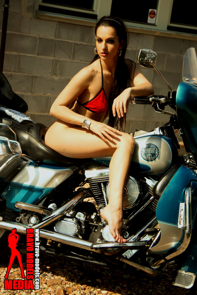 Bikes and Babes from Bravo Models media by Hana Bravo