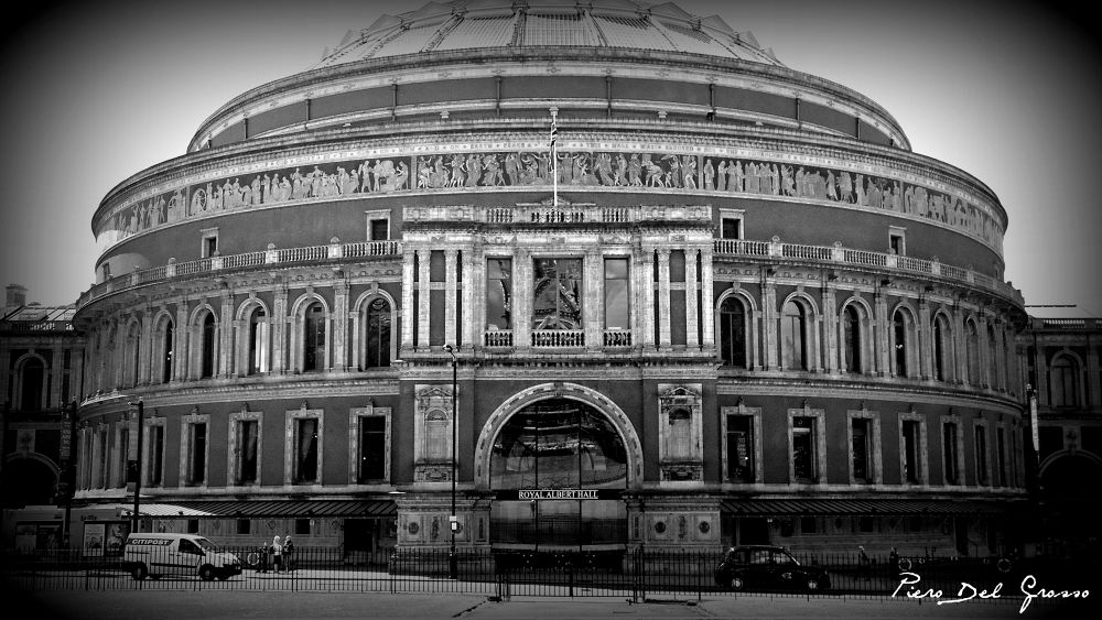 Royal Albert Hall - London by Piero Del Grosso