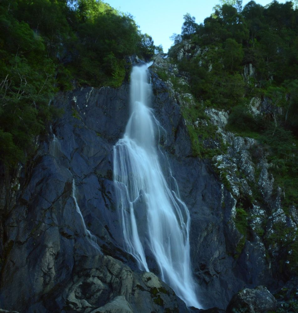Aber Falls. by philbulkeley