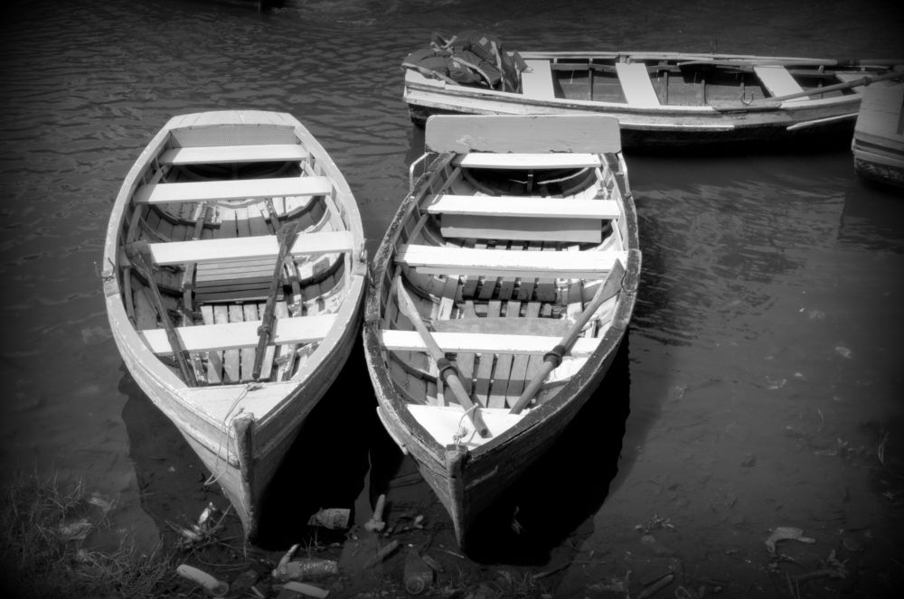 Twin Boats by Saravanan Veeru
