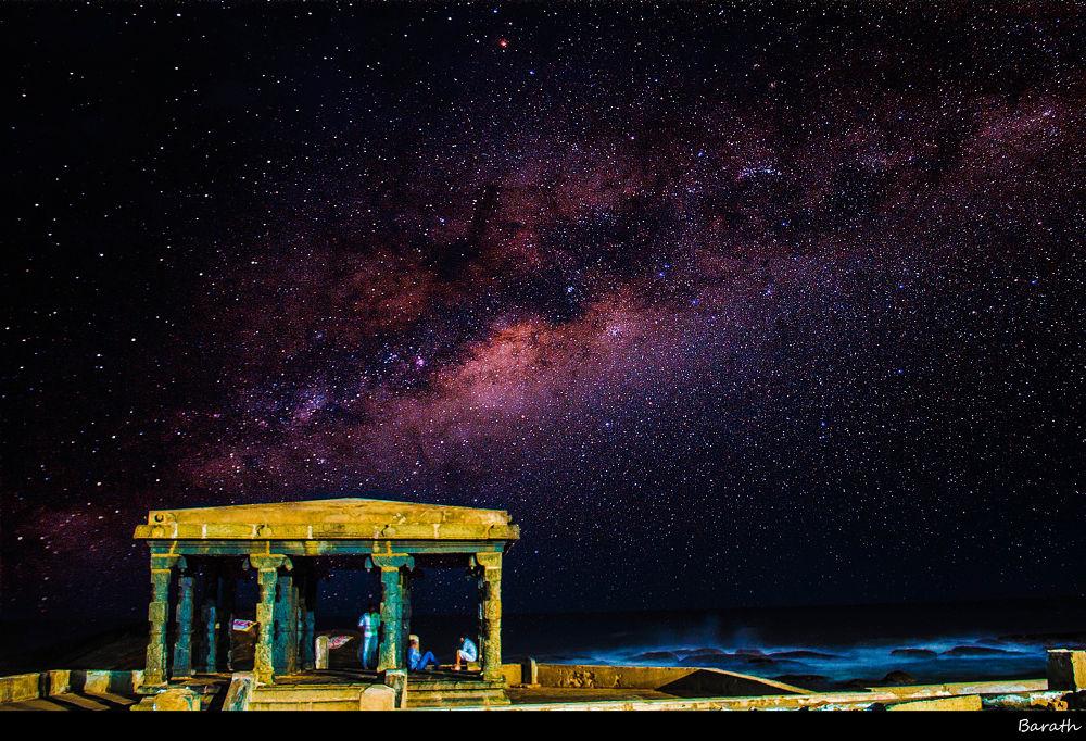 A Colourful Milkyway by Barath Ganesh