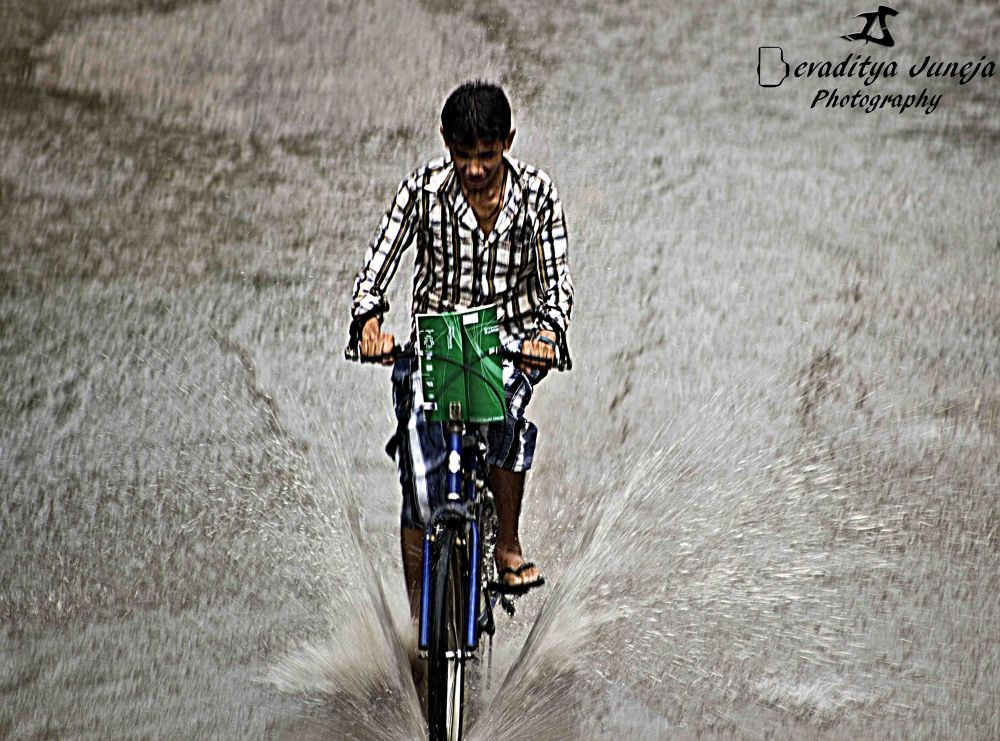 Living the weather ! by Devaditya Juneja