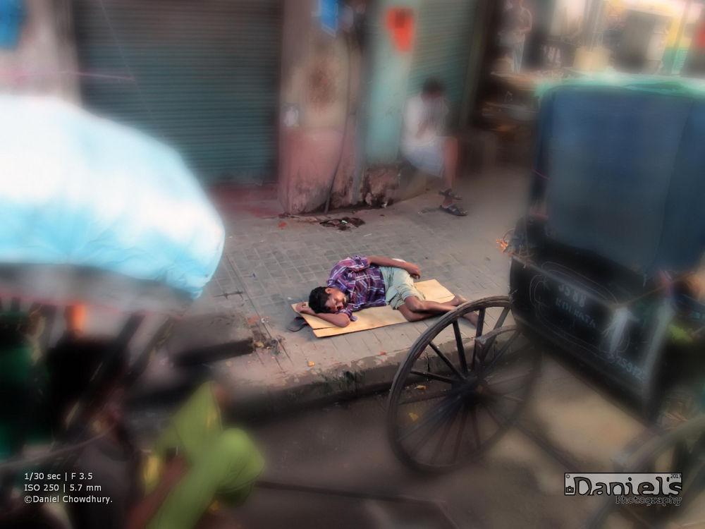 Life of a Rikshawala by Daniel Chowdhury